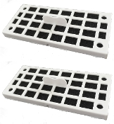 2 Refrigerator Air Filters Replace GE Odor Filter Cafe Series